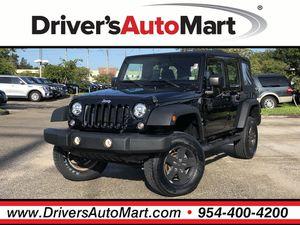 2015 Jeep Wrangler Unlimited for Sale in Davie, FL