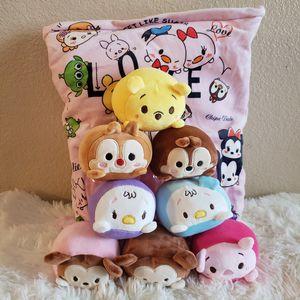 Disney Tsum tsum Plushie set for Sale in San Bernardino, CA