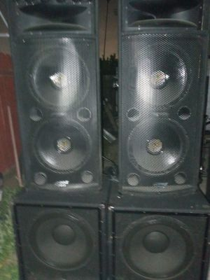 "Dj speakers 18"" and 15"" for Sale in Los Angeles, CA"