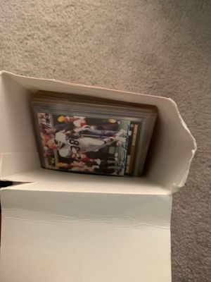 Box of Baseball, basketball and football cards for Sale in Boyds, MD