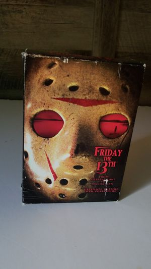 Friday the 13th ultimate edition dvd collection for Sale in Davie, FL