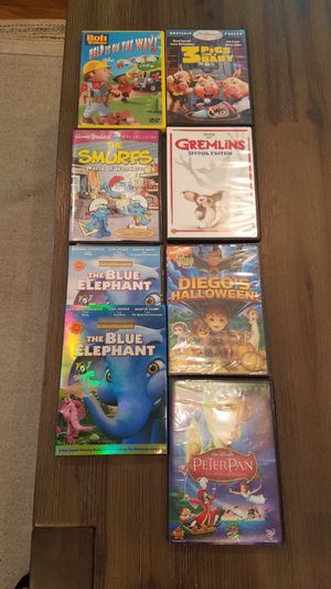 7 DVDs kids movies for Sale in Waltham, MA