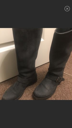 Frye boots grey size 6 for Sale in Columbus, OH
