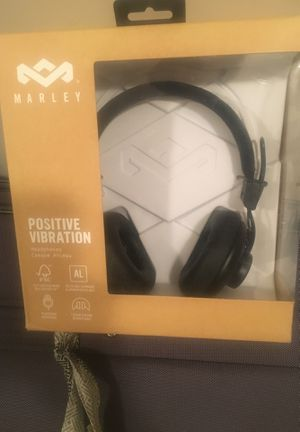 Marley positive vibration headphones for Sale in Apex, NC