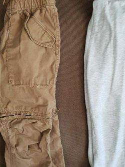 Gap Kids Zip Off Pants And Joggers Size 6, 7 for Sale in Centreville,  VA