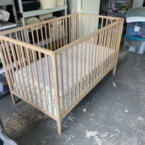 IKEA Natural Sniglar Crib for Sale in Fort Lauderdale, FL
