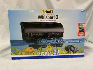 Treta Whisper IQ Aquarium Filter 60 Gallons for Sale in Clarksburg, MD