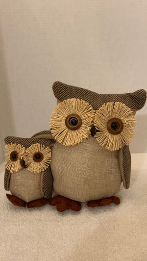 Fall owl decor for Sale in Whittier, CA