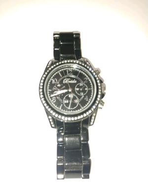 Breda black crystal face watch for Sale in North Port, FL