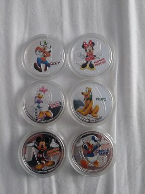 Disney collectible coins for Sale in Chester Springs, PA