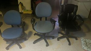 3 Office chairs for Sale in Chicago, IL