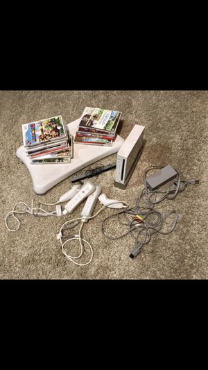 Wii Console and games for Sale in Gilbert, AZ