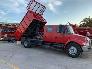 Dump truck crew cab international runs excellent for Sale in Alhambra, CA