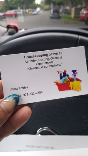 Not selling anything , Just do house keeping! 40$ Contact me (: for Sale in Tigard, OR