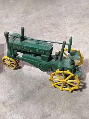 Cast iron John Deere tractor for Sale in Dover, PA