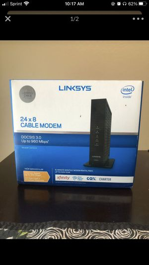 Linksys Cable Modem for Sale in Goodyear, AZ