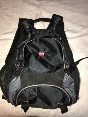 Backpack, water resistant, black for electronics and laptop for Sale in Crystal River, FL