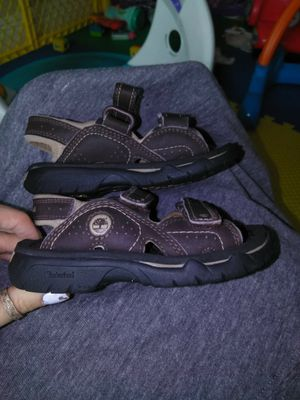 Brown timberland Sandals size 8 for Sale in Tampa, FL