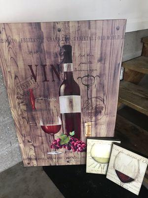 Wine theme for Sale in Murfreesboro, TN