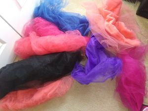 Tulle fabric for Sale in Frederick, MD