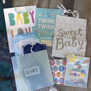 Free Baby Shower Gift Bags for Sale in Marietta, GA