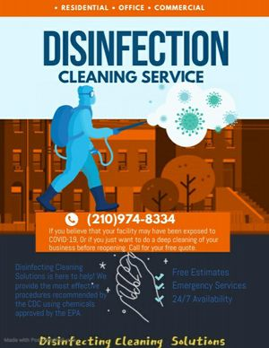 Disinfecting for Sale in San Antonio, TX