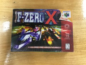 F-Zero X brand New/Factory Sealed for Nintendo 64 N64 for Sale in Orange, CA