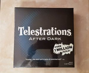 Telestrations After Dark Adult Party Game | Adult Board Game | An Adult Twist... for Sale in Miami Lakes, FL