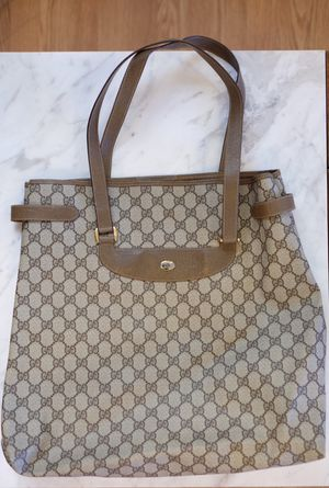 Gucci Vintage Signature Tote Handbag for Sale in Daly City, CA