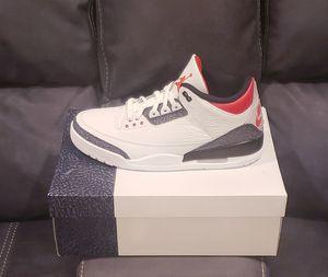 "Jordan 3 Retro ""Fire Red Denim"" (Men's Size 13) *BRAND NEW* >> for Sale in Los Angeles, CA"