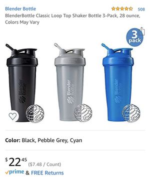 Blender Bottles (3-pack) 28oz for Sale in Culver City, CA