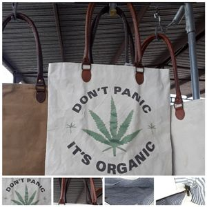 Don't Panic It's Organic canvas tote bag NWT for Sale in Las Cruces, NM