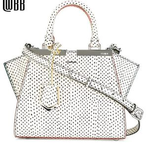 Fendi Small Shopping Bag 2Jours Snake Leather Top Handle Satchel Shoulder Bag 8BH333 F07HG for Sale in Murfreesboro, TN
