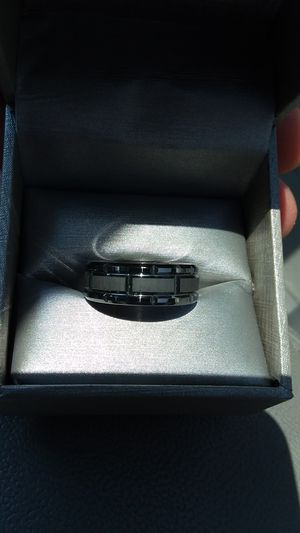 NEW men's tungsten wedding ring for Sale in Saint Charles, MD