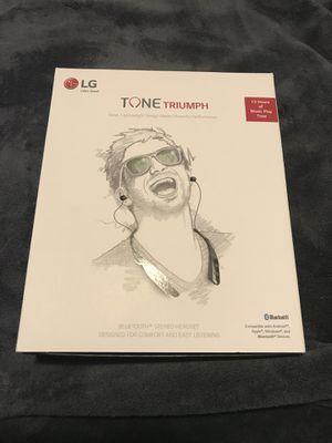 LG Tone Triumph Bluetooth headphones for Sale in Holladay, UT