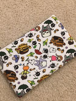 Totoro Ghibli Fabric Zippered Pouch Handmade for Sale in Issaquah,  WA