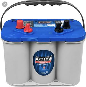 BLUE TOP MARINE OPTIMA BATTERIES AVAILABLE for Sale in Orange, CA