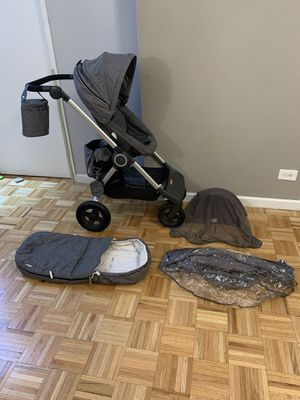 Stokke scoot gray malange bundle all accessories included for Sale in New York, NY