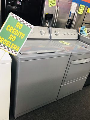 Whirlpool Grey Classic Washer & Dryer ✨ Discount: JUANA for Sale in Fontana, CA