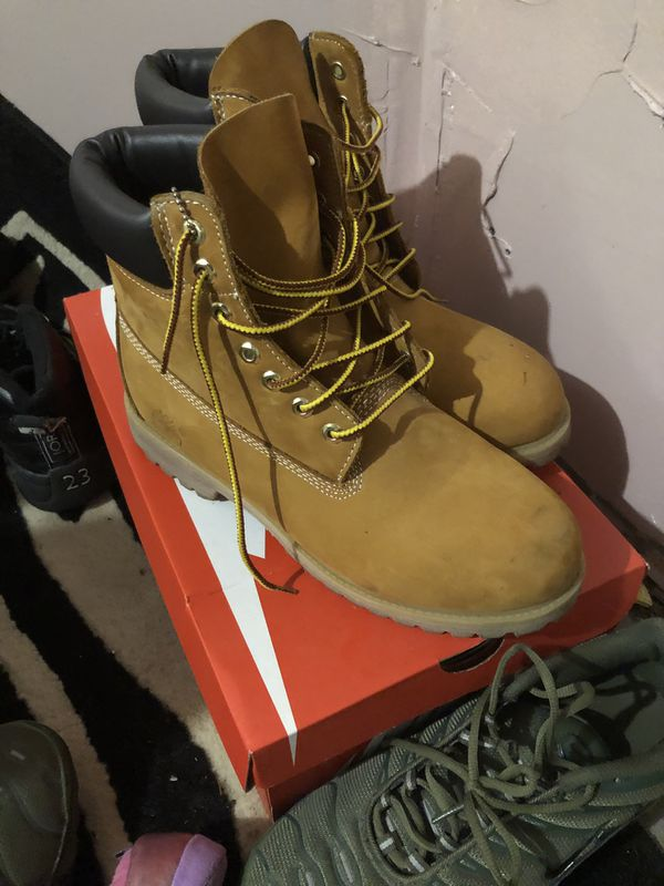 Timberlands work boots size 11