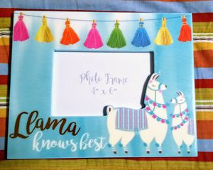 Llama knows best picture frame for Sale in New Haven, CT
