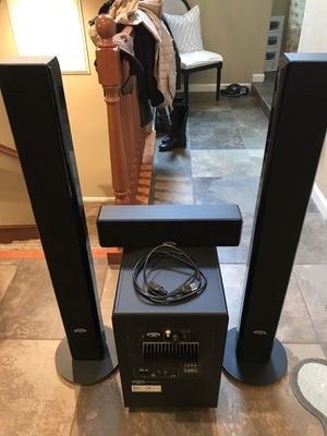 Monster Speakers with Pioneer Elite Reciever for Sale in San Ramon, CA