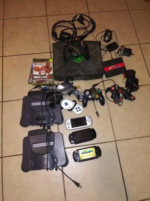 2 N64 3 PSP Xbox take everything for 100 bucks for Sale in Modesto, CA