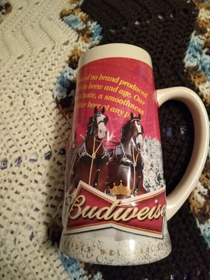 2013 Budweiser holiday stein for Sale in Clemmons, NC