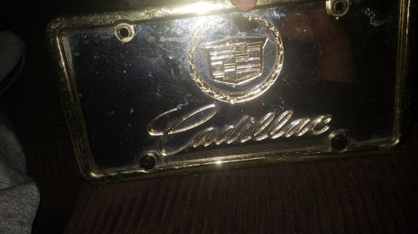 two3-D Cadillac license plates