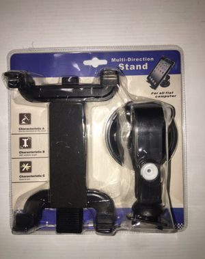 Car Suction iPad Tablet GPS Phone Mount Holder Multi Direction Stand for Driver for Sale in Bedford Park, IL