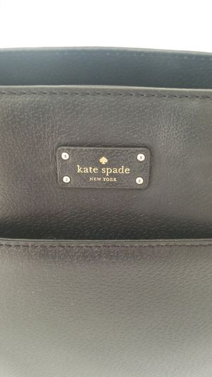 KATE SPADE BLACK LEATHER HANDBAG *LIKE NEW* for Sale in Tracy, CA