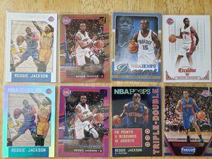 Reggie Jackson Pistons NBA basketball cards for Sale in Gresham, OR