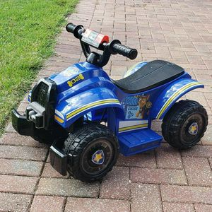 NICKELODEON PAW PATROL CHASE TODDLER RIDE ON TOY BY KID TRAX for Sale in Haines City, FL