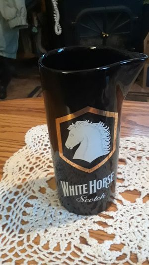 white horse scotch pitcher for Sale in Klamath Falls, OR